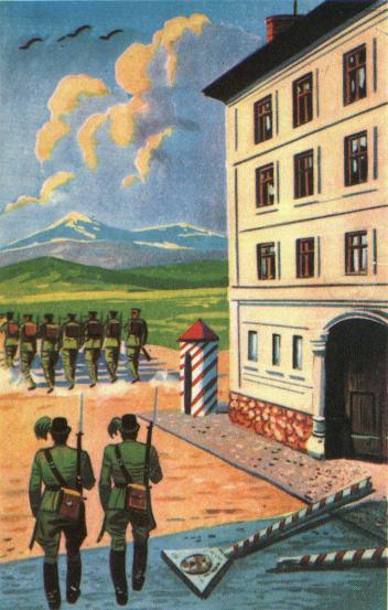 Vámház Őrvidéken