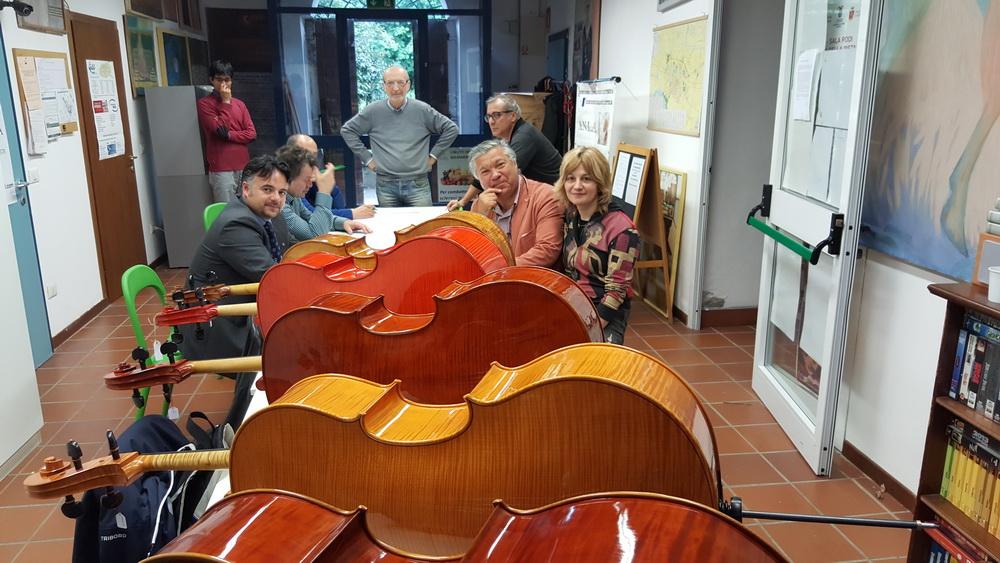 A10. Nemzetközi Hegedűkészítő Verseny grémiuma